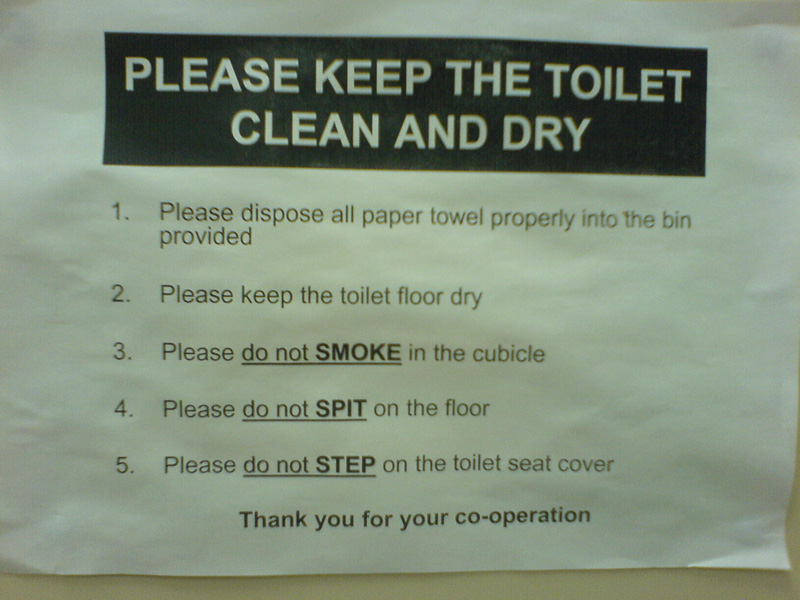 keep it clean instructions
