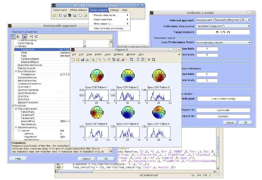 Computer Brain Icon Brain Computer Interface